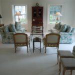 Living Room - White Floors